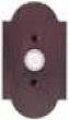 Emtek<br />2421 EMTEK - DOORBELL BUTTON WITH #1 SANDCAST BRONZE ROSETTE