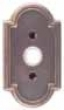 Emtek<br />2411 EMTEK - DOORBELL BUTTON WITH 11 CAST BRONZE ROSETTE