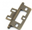 Schaub<br />1100B-ALB - Ball Tip Non-Mortise Hinge, Antique Light Brass
