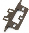 Schaub<br />1100M-10B - Minaret Tip Non-Mortise Hinge, Oil Rubbed Bronze
