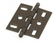 Schaub<br />1111B-10B - Ball Tip Mortise Hinge, Oil Rubbed Bronze