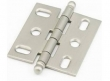 Schaub<br />1111B-15 - Ball Tip Mortise Hinge, Satin Nickel