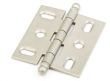 Schaub<br />1111B-DN - Ball Tip Mortise Hinge, Distressed Nickel