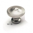 Schaub - Cabinet<br />151-15 - 1-3/8&quot; Knob, Satin Nickel