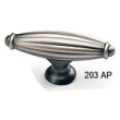 Schaub - Cabinet<br />203-AP - Antique Pewter Oval T-Knob, 2-5/8&quot;