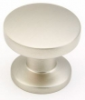 Schaub - Cabinet<br />211-15 - Satin Nickel Knob, 1 3/8&quot;