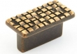 Schaub - Cabinet<br />235-FAB - Rectangle Knob, 32 mm cc, French Ant Bronze