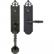 TRIM NO. 2502 MORTISE HANDLE SET - SINGLE CYLINDER IN IRON