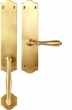 Bouvet<br />2504-18 - TRIM NO. 2504 HANDLE SET - FULL DUMMY IN BRASS