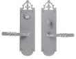 Bouvet<br />2602-15 - TRIM NO. 2602 ENTRANCE LEVER SET - SINGLE CYLINDER IN BRASS