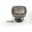 Schaub<br />270-EBZ - Empire Bronze Square Knob, 1-3/8&quot;