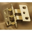 Cliffside - Cabinet<br />3-8-OFFSET-PB - 3/8&quot; POLISHED BRASS HINGE