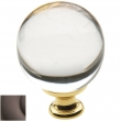 Baldwin<br />4302.112 IN STOCK  - Crystal Knob Venetian Bronze