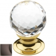 Baldwin<br />4318.112 IN STOCK  - Crystal Knob Venetian Bronze