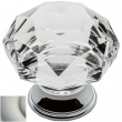 Baldwin<br />4325.150 IN STOCK  - Crystal Knob Satin Nickel