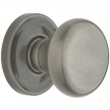 Baldwin<br />5015.030  - Classic Knob Set with 5048 Rose - Polished Brass