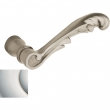 Baldwin<br />5121.055 - 5121 LEVER - LIFETIME POLISHED NICKEL