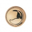 Bouvet<br />5205 - NO. 5205 CABINET KNOB IN BRASS