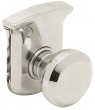 Baldwin<br />R025.055 - 3&quot; TAHOE ROSE - LIFETIME POLISHED NICKEL