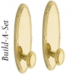 Baldwin<br />BALDWIN - EDINBURGH BUILD-A-SET ESCUTCHEON SETS - STANDARD FINISHES