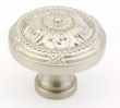 Schaub<br />752-15 - 1-1/2&quot; Satin Nickel Knob