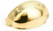 Schaub - Cabinet<br />755-03 - Polished Brass Cup Pull, 3&quot; cc