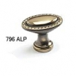 Schaub - Cabinet<br />796-ALP - 1-1/2&quot; Oval Knob, Antique Light Polish