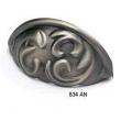 Schaub - Cabinet<br />834-AN - 3&quot; cc Solid Brass Cup Pull, Antique Nickel
