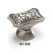 Schaub - Cabinet<br />841-BNB - Octagonal Oval Knob, Brushed Nickel Black