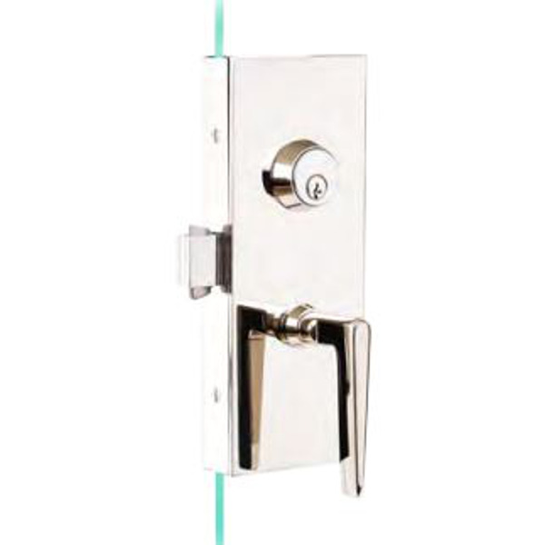 GS87 Series Glass Patch Lockset for Sliding Door Applications