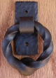 Agave Ironworks<br />KN009 - Small Twist Ring Knocker