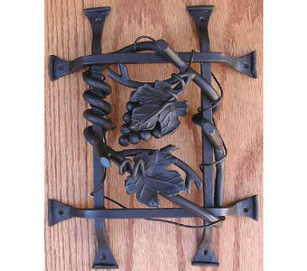 Agave Ironworks - Barn door, gate, iron clavos hardware