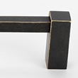 Alno<br />D718-12-BARC - 12&quot; CONTEMPORARY SQUARE PULL