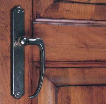 Sliding Door Vertical Lever Options