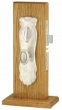 Emtek<br />3532 - ART NOUVEAU MORTISE ENTRY