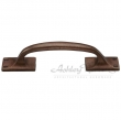 Ashley Norton<br />1145.6 1/4 - Solid Bronze Offset Pull Handle 6 1/4&quot; Overall