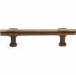 Ashley Norton<br />3430.12 1/8 - Solid Bronze Bar Pull 12 1/8&quot; Overall Length