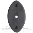 Ashley Norton<br />CKB.OV - OVAL BACKPLATE 2.5&quot; X 1 3/8&quot;