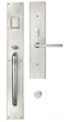 Ashley Norton<br />MDLGL.10 - Urban Suite 24&quot; x 3 1/2&quot; Exterior Escutcheon - Grip x Lever Mortise Entryset