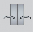 Ashley Norton<br />ML.34 - Urban Suite 7 1/2&quot; x 2 1/2&quot; Escutcheons - Mortise Passage
