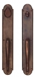 Ashley Norton<br />SP.GG.18.50 - Arched Suite 18 1/8&quot; x 3&quot; Pull x Pull Deadbolt Entryset