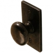 Ashley Norton<br />SQ113 - 1 1/2&quot; KNOB WITH SQUARE BACKPLATE