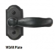 Ashley Norton<br />WDAR.403  with 403 Mini Hampton Lever  - Tilt &amp; Turn Arched Window Handle