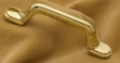 Cliffside - Cabinet<br />B1-3-PB - CLIFFSIDE POLISHED BRASS PULL B1-3-PB