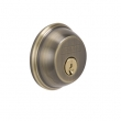 Schlage<br />B62N 609  - DOUBLE CYLINDER DEADBOLT- ANTIQUE BRASS