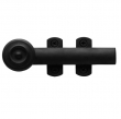 Baldwin<br />0344 - DECORATIVE HEAVY DUTY SEMI-CONCEALED SURFACE BOLT