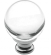 Baldwin<br />4300.260 IN STOCK  - Crystal Knob Polished Chrome