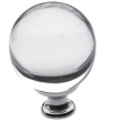 Baldwin<br />4302.260 IN STOCK  - Crystal Knob Polished Chrome