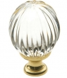 Baldwin<br />4304.030 IN STOCK - Crystal Knob Polished Brass