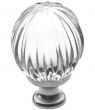 Baldwin<br />4304.260 IN STOCK  - Crystal Knob Polished Chrome